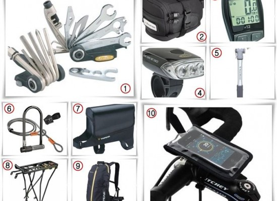 Cool Item Piles 10 Bicycle Essential Accessories To Improve Your Biking Experience